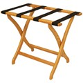 Solid Oak Luggage Rack